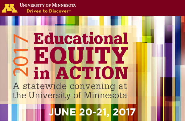 postcard for Educational Equity in Action statewide convening